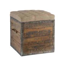 The Sac De Moulin Wooden Cube