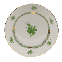 Chinese Bouquet Green Dinnerware
