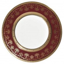 Eugenie Red Dinnerware | Gracious Style