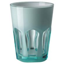 Double Face Acrylic Tumbler Turquoise