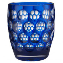 Lente Royal Blue Tumbler 4.25 in High 8.5 oz