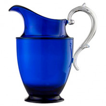 Federica Acrylic Pitcher Blue