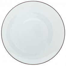 Monceau Mahogany Brown Dinnerware | Gracious Style
