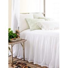 Savannah Linen Gauze White Bedding