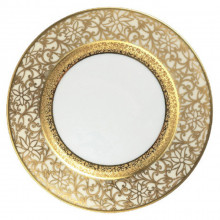 Tolede Ivory/Gold Dinnerware | Gracious Style