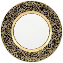 Tolede Black/Gold Dinnerware | Gracious Style