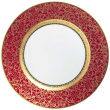 Tolede Red/Gold Dinnerware | Gracious Style