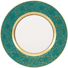 Tolede Turquoise/Gold Dinnerware | Gracious Style