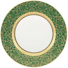 Tolede Green/Gold Dinnerware | Gracious Style