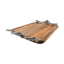 Acorn Oak Leaf Tray