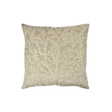 Tree of Life Applique Pillow Linen 20x20 | Gracious Style