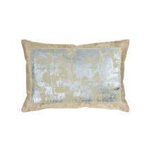 Distressed Metallic Lace Pillow Linen 14x20 | Gracious Style