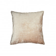 Velvet and Bead Pillow Blush 18x18 | Gracious Style