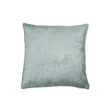 Velvet and Bead Pillow Seafoam 18x18 | Gracious Style