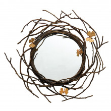 Butterfly Gingko Mirror