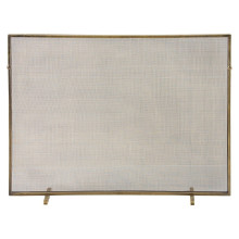 Gita Fire Screen Antique Brass/Mesh
