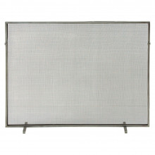 Gita Fire Screen Antique Zinc/Mesh