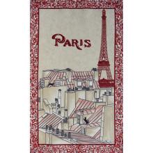 Les Toits De Paris Grenadine 20 X 31 in Tea Towel, Set of 3 | Gracious Style