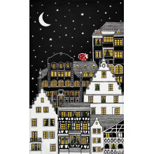 Douce Nuit Col.1 Original 20 x 31 in Tea Towels, Set of 3 | Gracious Style