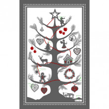 Sapin Magique Col.1 Original 20 x 31 in Tea Towels, Set of 3 | Gracious Style