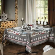 A La Neige Original Print Table Linens | Gracious Style