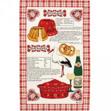 Alsace Gourmande Original 20 X 31 in Tea Towel, Set of 3 | Gracious Style