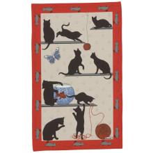 Chat Pitre Original 20 X 31 in Tea Towel, Set of 3 | Gracious Style