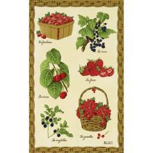 Fruits Rouges Original 20 X 31 in Tea Towel, Set of 3 | Gracious Style