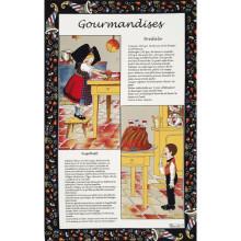 Gourmandises Original 20 X 31 in Tea Towel, Set of 3 | Gracious Style