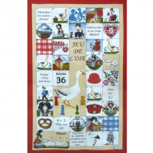 Jeu De L'Oie Original 20 X 31 in Tea Towel, Set of 3 | Gracious Style