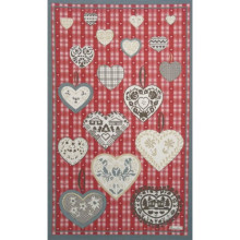Montana Red 20 X 31 in Tea Towel, Set of 3 | Gracious Style