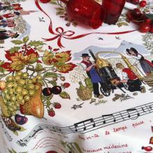 Eau De Vie Original Print Table Linens | Gracious Style