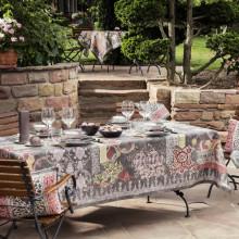 Rialto Quartz Print Table Linens | Gracious Style
