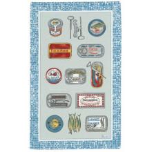 Sardines Original 20 X 31 in Tea Towel, Set of 3 | Gracious Style