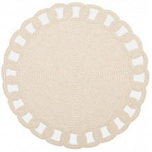 Aria Cream Placemats | Gracious Style