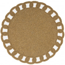 Aria Gold Placemats and Coasters | Gracious Style