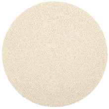 Terza Cream Placemats and Coasters | Gracious Style