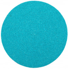 Terza Turquoise Placemats and Coasters | Gracious Style