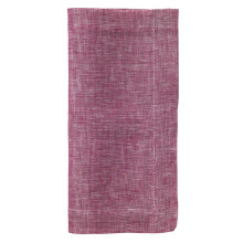 Chambray Berry 21 In Napkins, Set Of 4 | Gracious Style