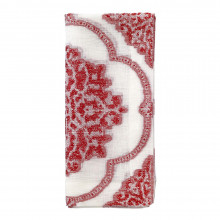 Corte Red Table Linens | Gracious Style