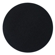Skate Black Round Tablecloth Coasters, Set of 4