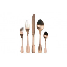Madrid 5Pc Copper Flatware | Gracious Style