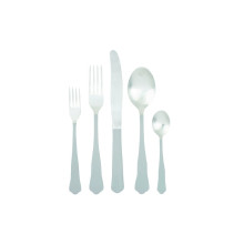 Jaipur 5 Pc Light Grey Flatware | Gracious Style