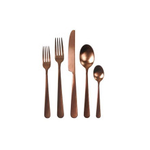 Como 5Pc Set Copper Flatware | Gracious Style