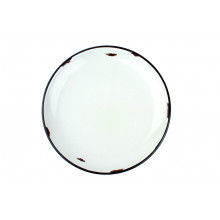 Tinware Dinner Plate Red | Gracious Style