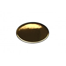 Small Platter Gold Charcoal | Gracious Style