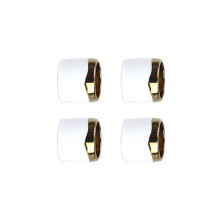 Napkin Ring Set Of 4 Gold | Gracious Style