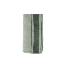 French Linen Napkin Natural/Granite | Gracious Style