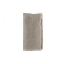 Lithuanian Linen Fringe Napkin Natural | Gracious Style