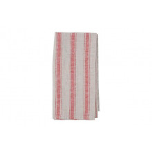 Kartena Napkin Red Stripe | Gracious Style
